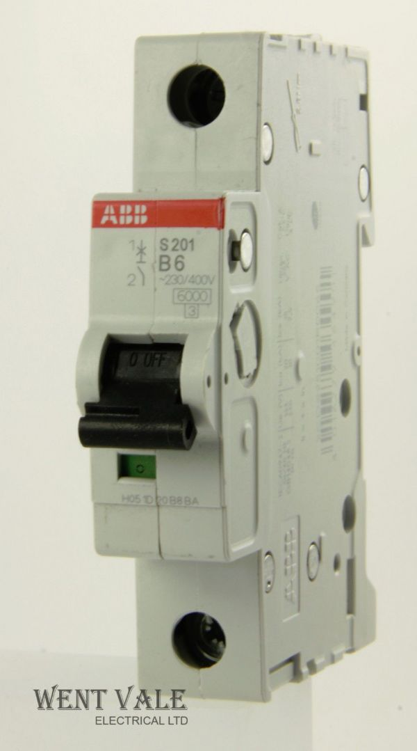 ABB System Pro M Compact - 2CD S251 001 R0065 - 6a Type B Single Pole MCB New